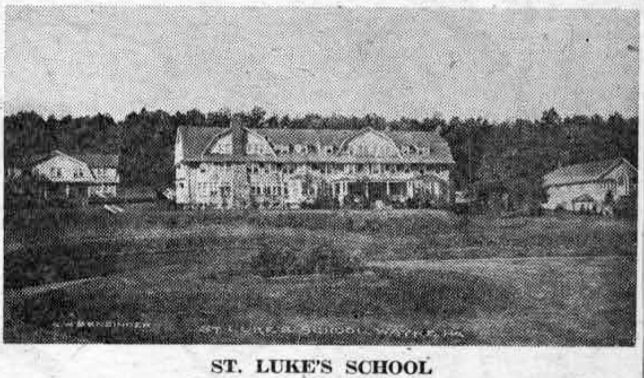 This well-known school for boys was located at the northeast corner of Eagle and Radnor roads. Later the main building, along with several other small ones, was purchased by St. Davids Golf Club. Since September, 1928, it has been incorporated into the Valley Forge Military Academy.