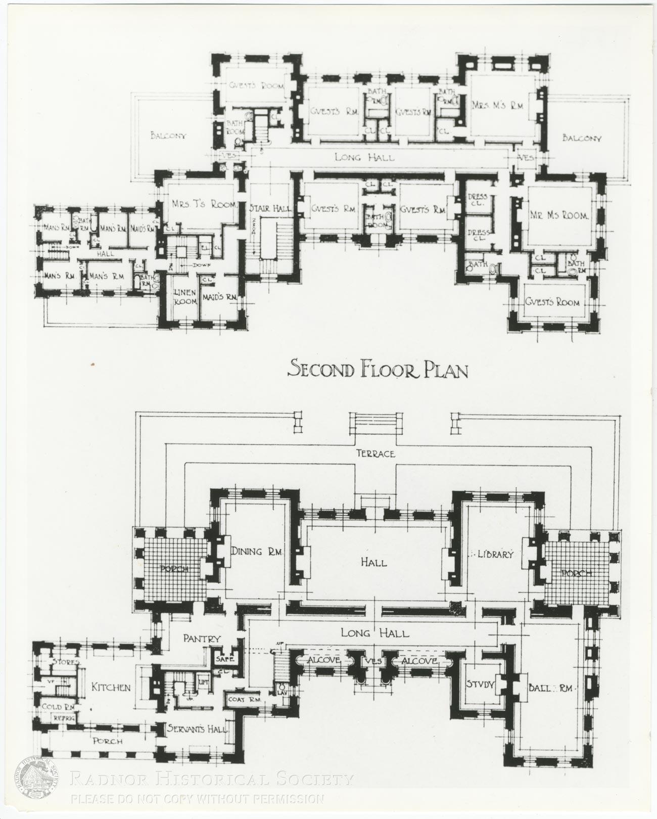Ardrossan Plans – Radnor Historical Society | Archive