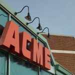 The Acme's sign in January, 2011. (photo by the author)