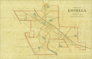 "This map of ""Louella,"" ca. 1870, is one of the oldest and most important maps of the area that would become Wayne. It is among the maps now available to view."