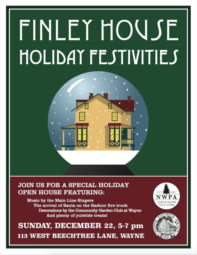 2019 Holiday Festivities Flyer